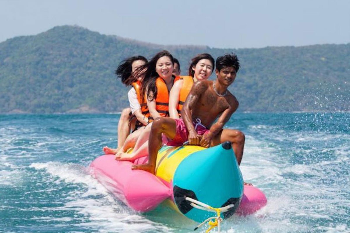 Coral island tour - Full Day