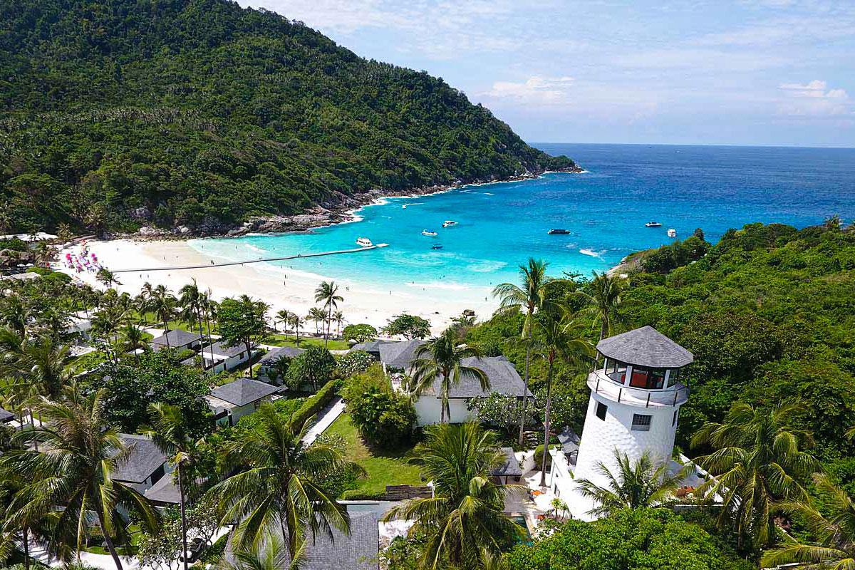 Raya island tour, Phuket