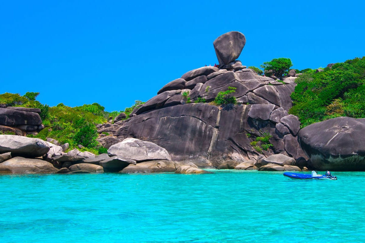 Similan islands tour