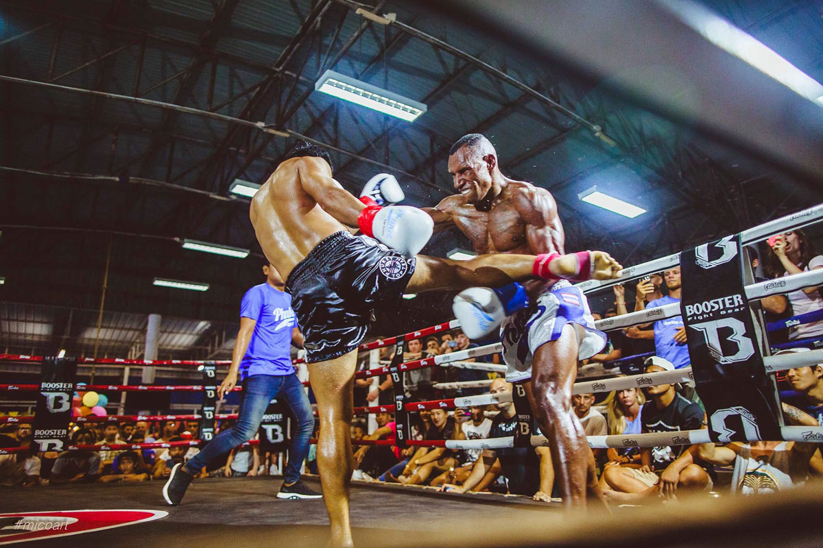 Watch Thai Boxing, Patong and Bangla stadiums in Phuket