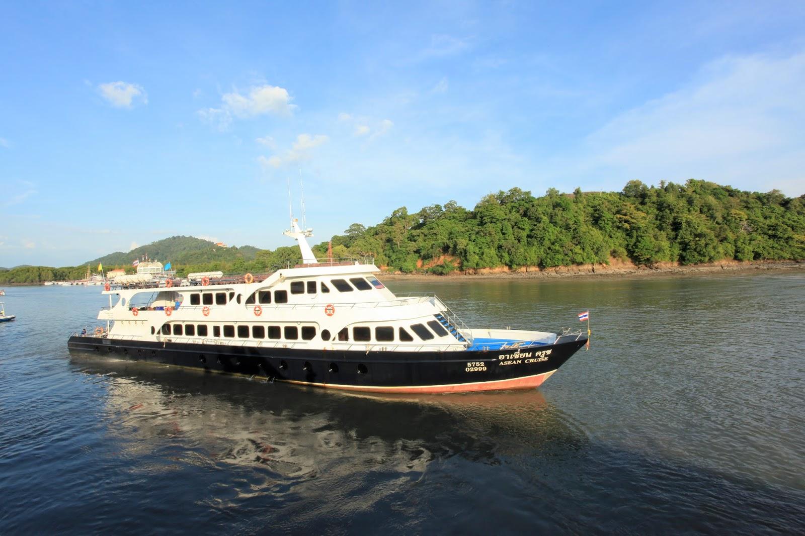 Cruiser ferry Phuket - Phi Phi island