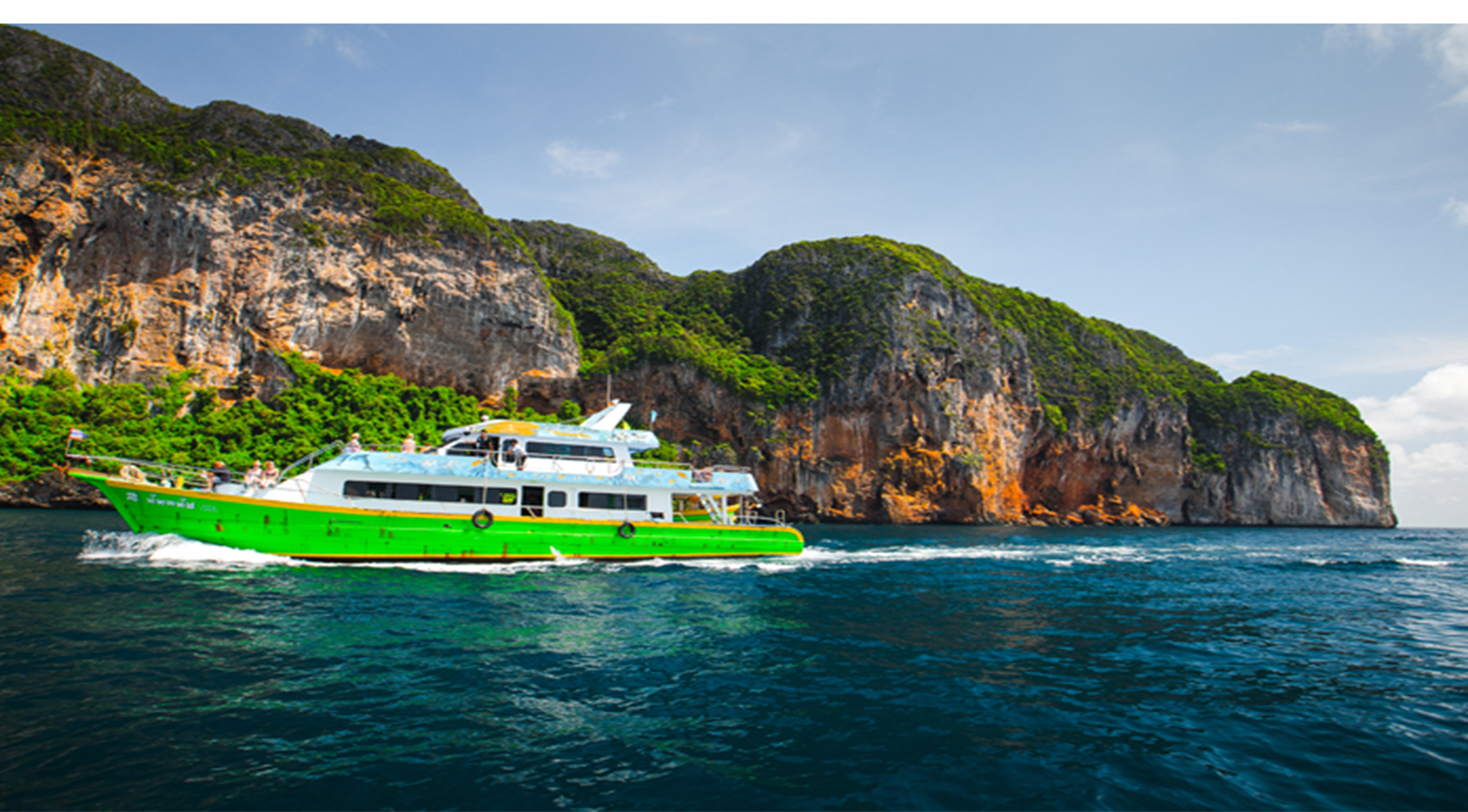 CHAOKOH ferry - Phuket -Phi Phi islands